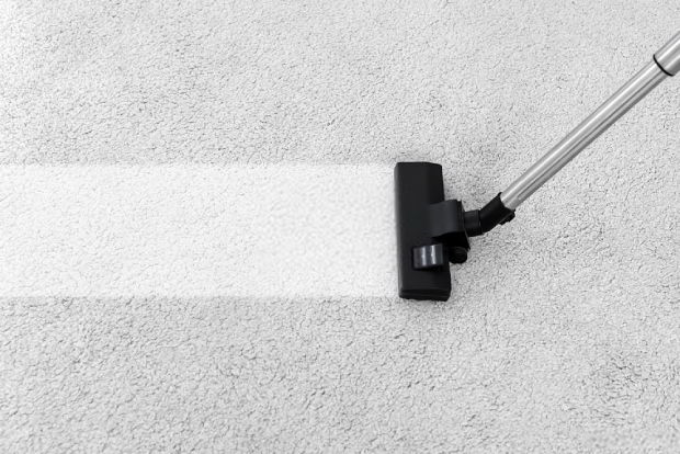 Vacuum your carpet before removal is recommended