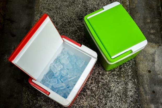 Clean your cooler and pre-chill with ice