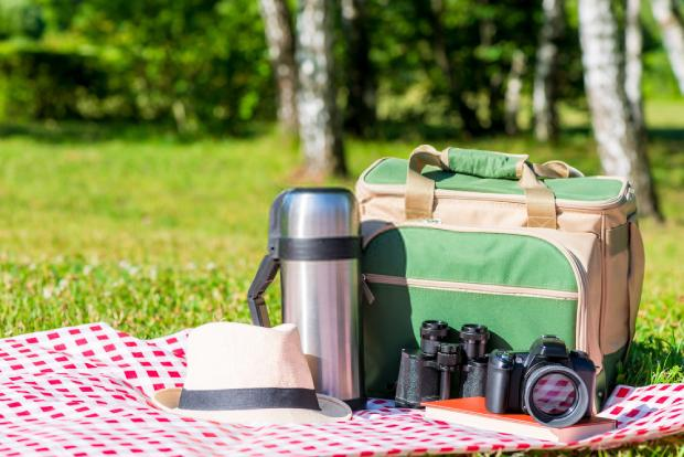 A cooler bag is more suitable for casual picnicking