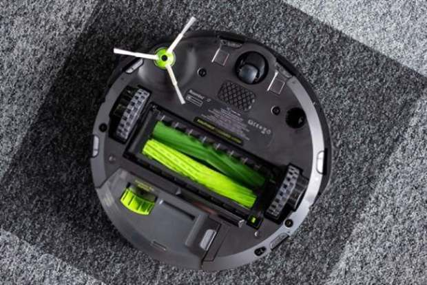 iRobot Roomba fitted with a better battery