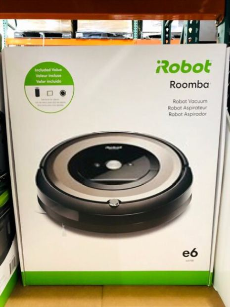 A picture showing a Roomba