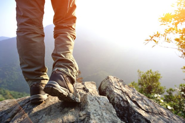 Hiking pants will prevent dirt from getting in your shoes