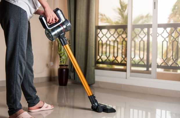 The Dyson vacuums can be easily convert into handheld vacs