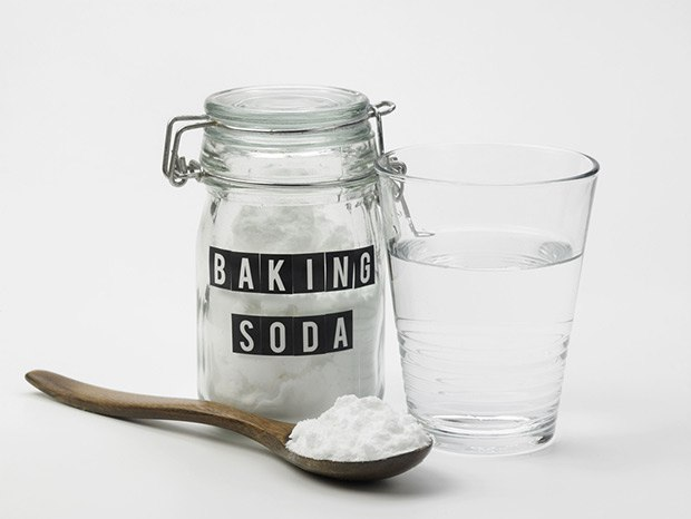 Spraying Diluted Fabric Softener or Baking Soda
