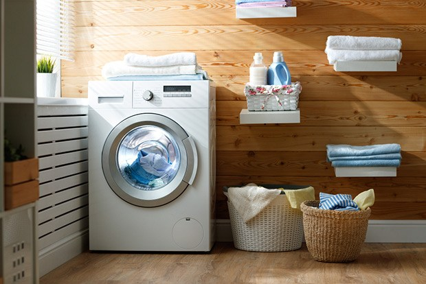 Use a washing machine and dryer