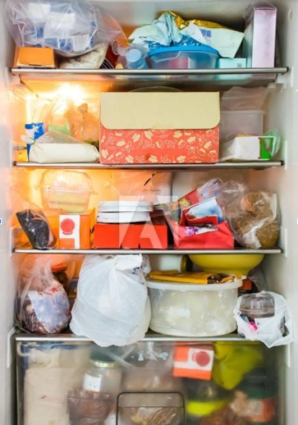 Your messy fridge will need to be cleaned