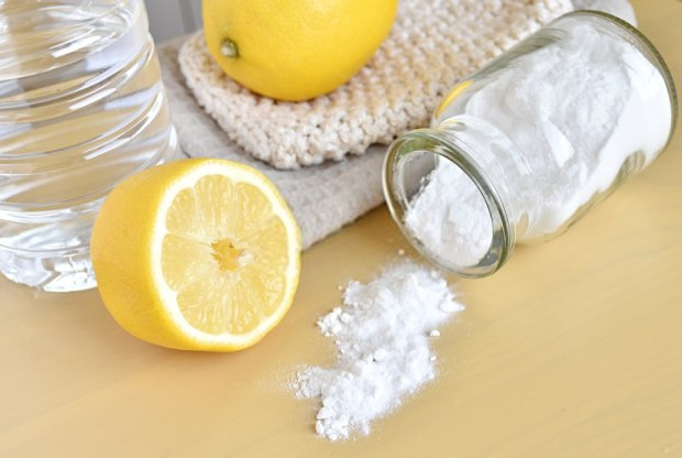 Baking soda can also be used for cleaning