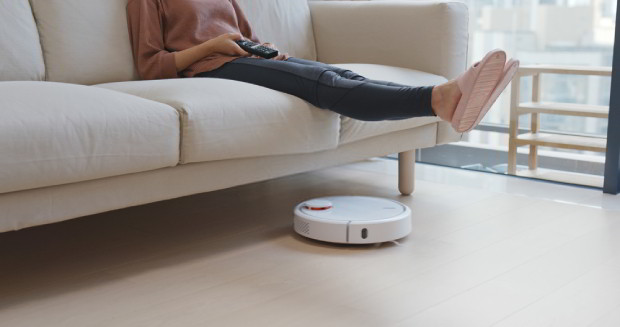 While it's convenient, robotic vacuums aren't suitable for thorough cleaning