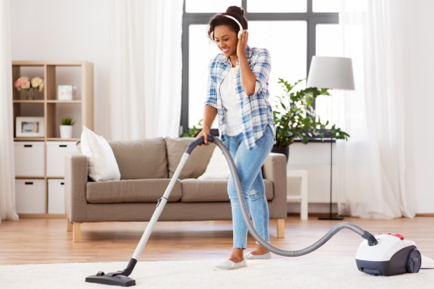 Vacuum often to keep your house clean and tidy