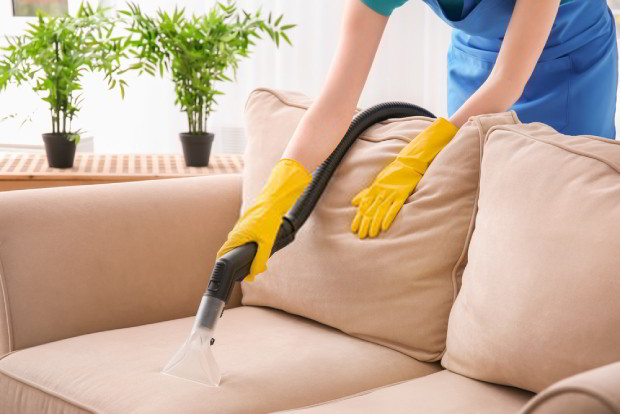 Use a vacuum to clean your upholstery