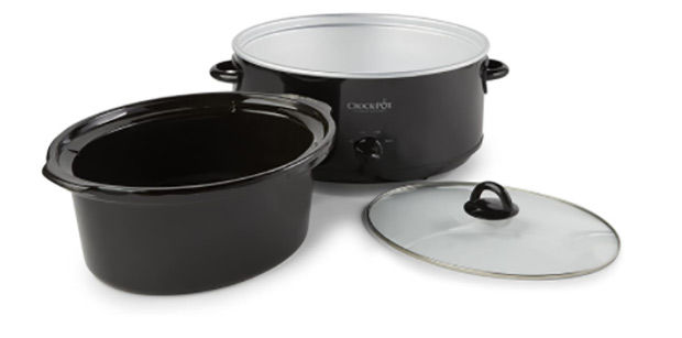 The Crock-Pot 8 quart slow cooker is easy and convenient to use