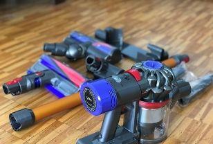 clean dyson vacuum filter