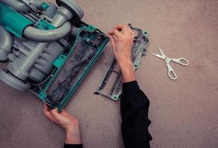 Shark rotator filter cleaning