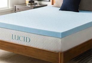 Lucid 3-inch gel memory foam mattress topper review